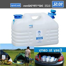 10.5L Outdoor Travel Water Bucket Camping Water Container Wa