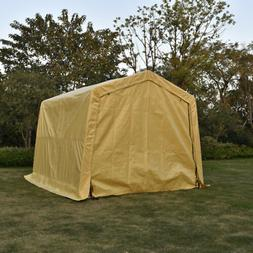 10'x10'x8' Car Canopy Outdoor Portable Garage Storage Shed A