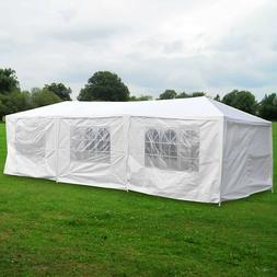 10'x30' Large Outdoor Canopy Party Wedding Tent with Stalks