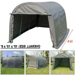 10x15 FT Canopy Carport Tent Car Shed Shelter Outdoor Storag