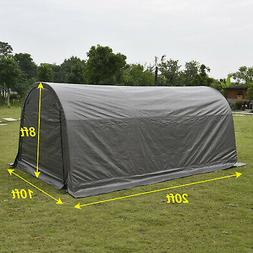 10x20 FT Canopy Carport Tent Car Shed Shelter Outdoor Storag