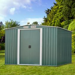3 Sizes Garden Storage Shed All Weather Tool Utility Outdoor