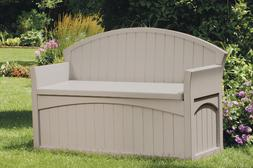50 Gallon Storage Bench Deck Box for Patio Decor and Outdoor