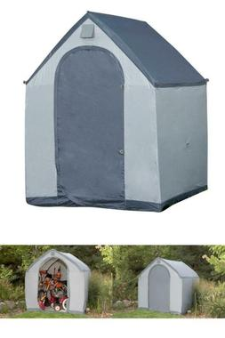 6 Ft. X 6 Ft. Polyester Portable Storage House Xl Shed Built