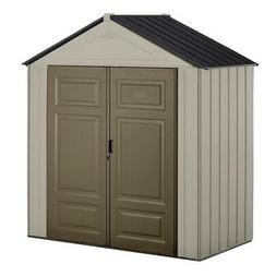 Rubbermaid Big Max Junior 3 ft. 5 in. x 7 ft. Storage Shed H
