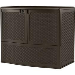 Suncast Calypso Vertical Deck Box, Java