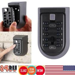 Outdoor Combination Key Safe Storage Box Wall Mount Home Sec