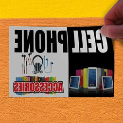 Decal Sticker Cell Phone Accessories Business Retail Outdoor