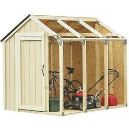 DIY Building Kit Roof Shed Outdoor Storage Utility Garage To