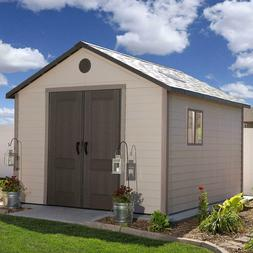 Garden & Storage Shed 11' x 13.5' Dent-resistant, Double-wal