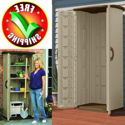 Garden Shed Storage Outdoor Tool Plans Kit Utility Resin Bac