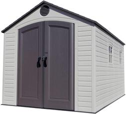 Garden Storage Shed For Outdoor 8 x 12.5 Feet Weather Resist