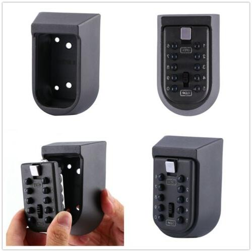 10 Digit Combination Key Lock Wall Security Outdoor Case
