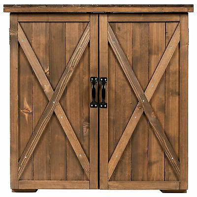 2.5 X Outdoor Shed Cabinet Double for