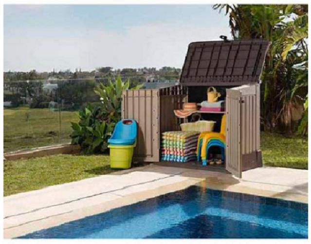 3030 Cu Ft Resin Storage Shed All Weather Plastic Outdoor Pa