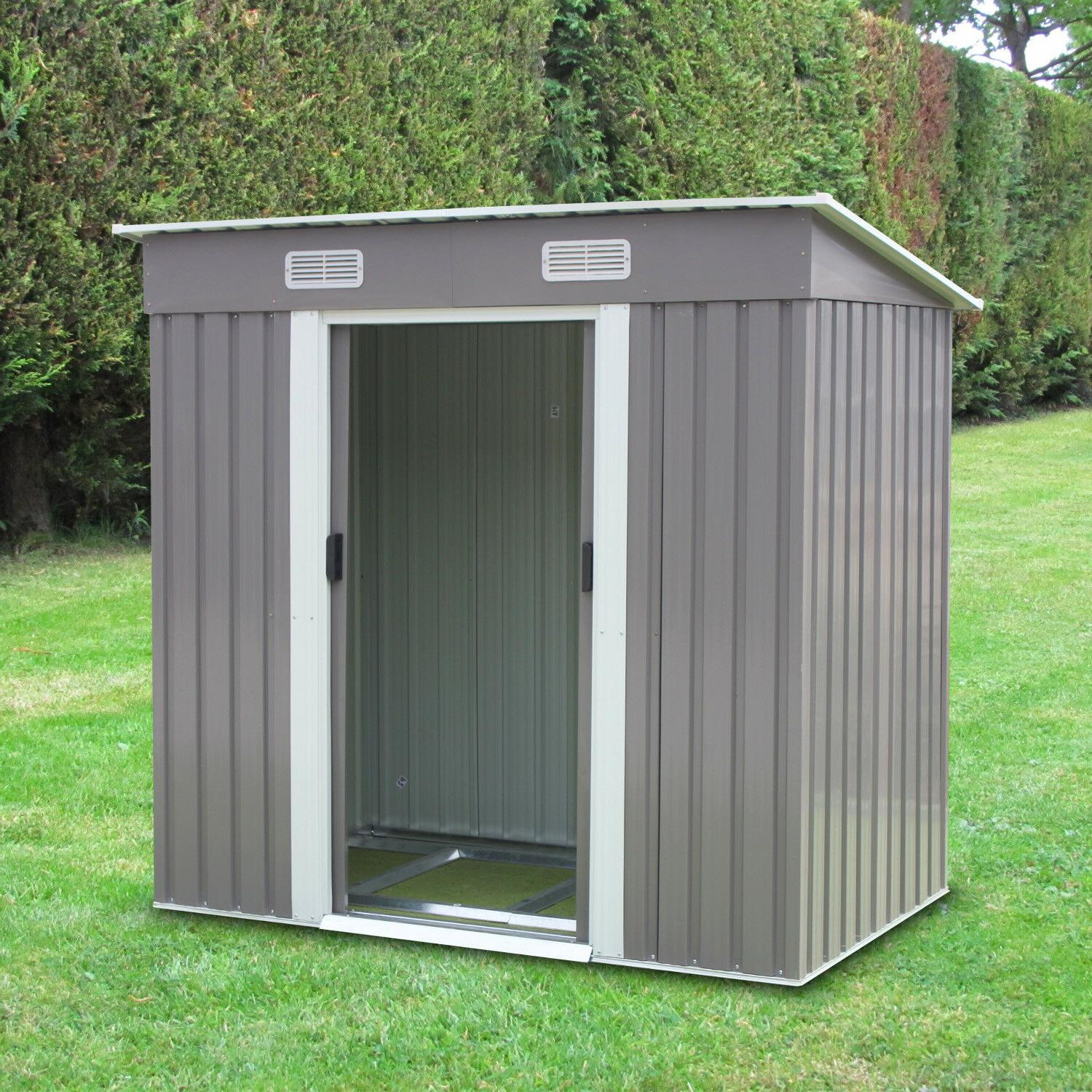 6 x 4 outdoor storage utility shed