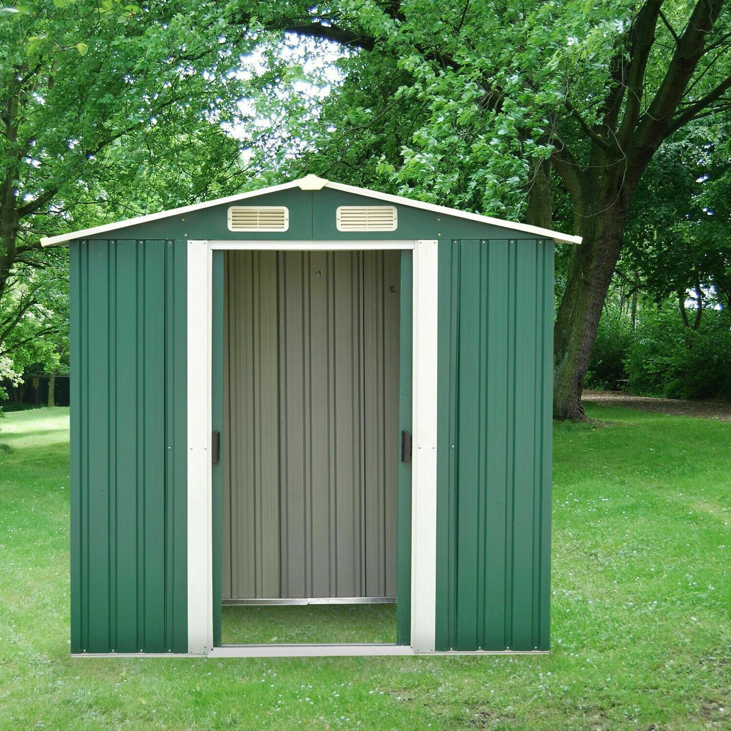 6'x4' Outdoor Shed Utility House