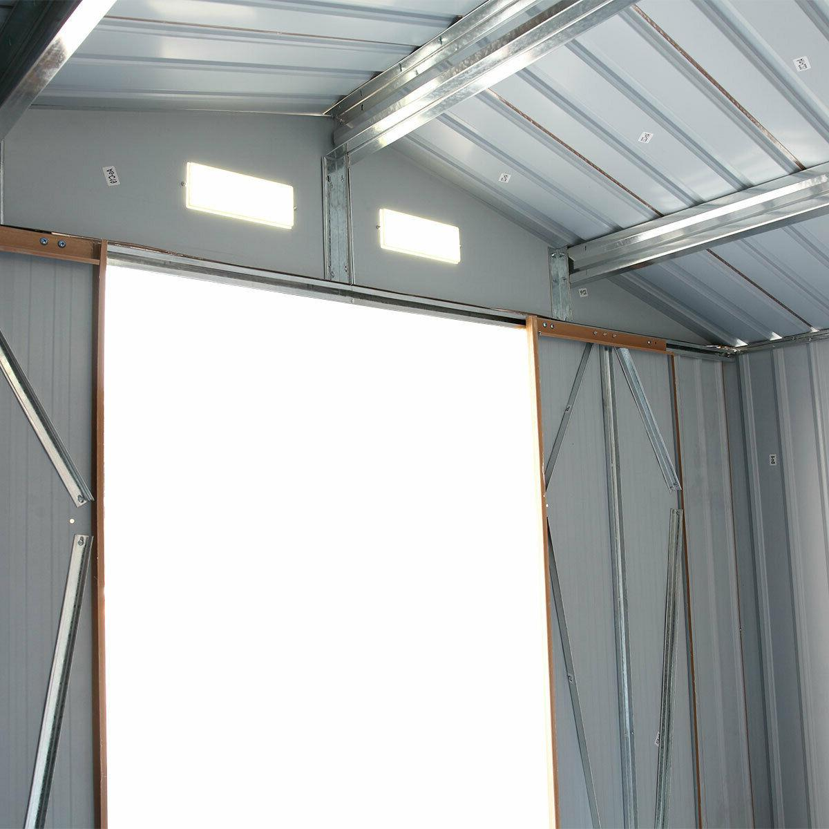 6' Garden Shed for Gable Roof