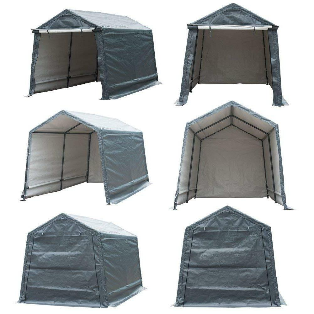 Outdoor Canopy Carport Tent Car Garage Shed Cover