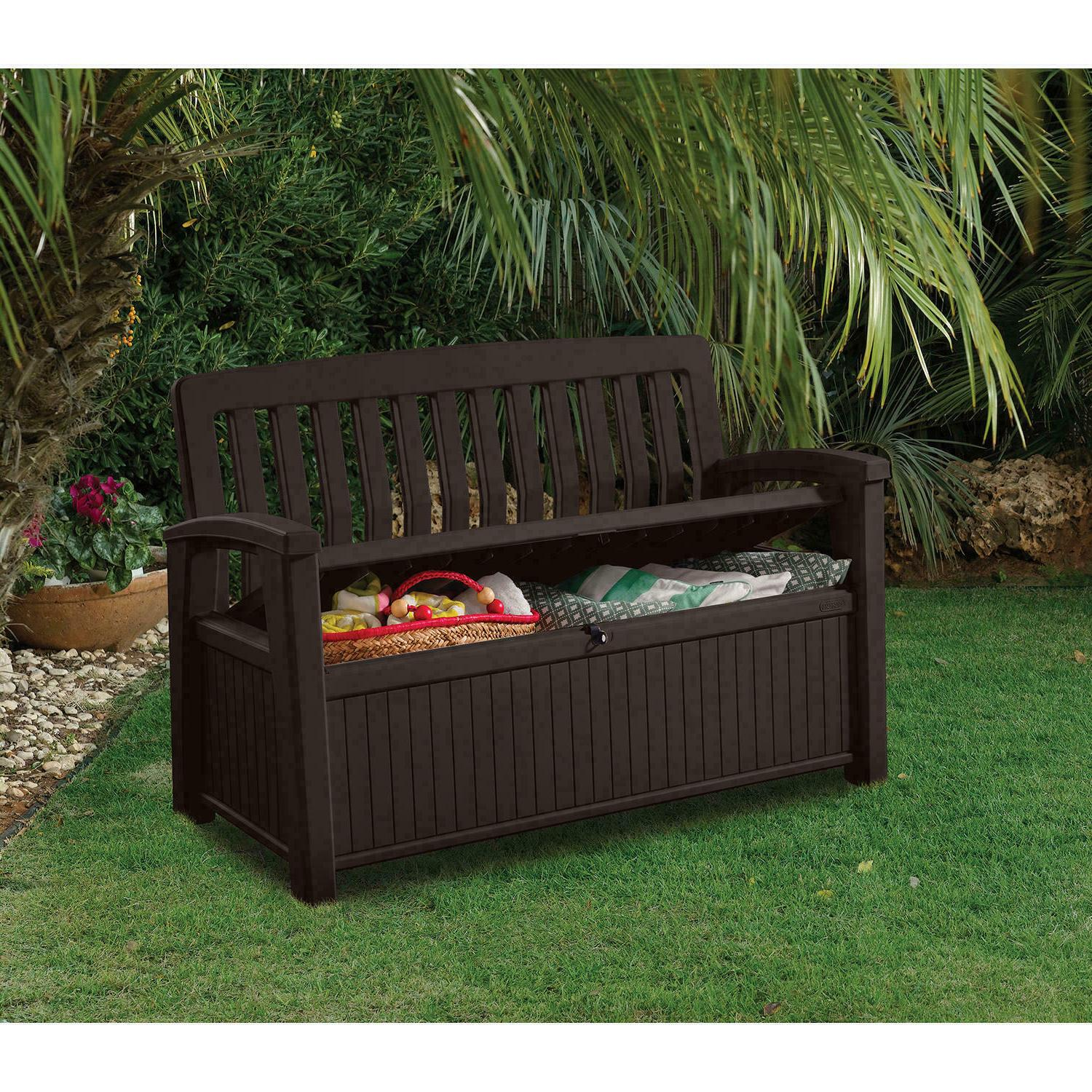 Keter All-Weather Outdoor Patio Bench