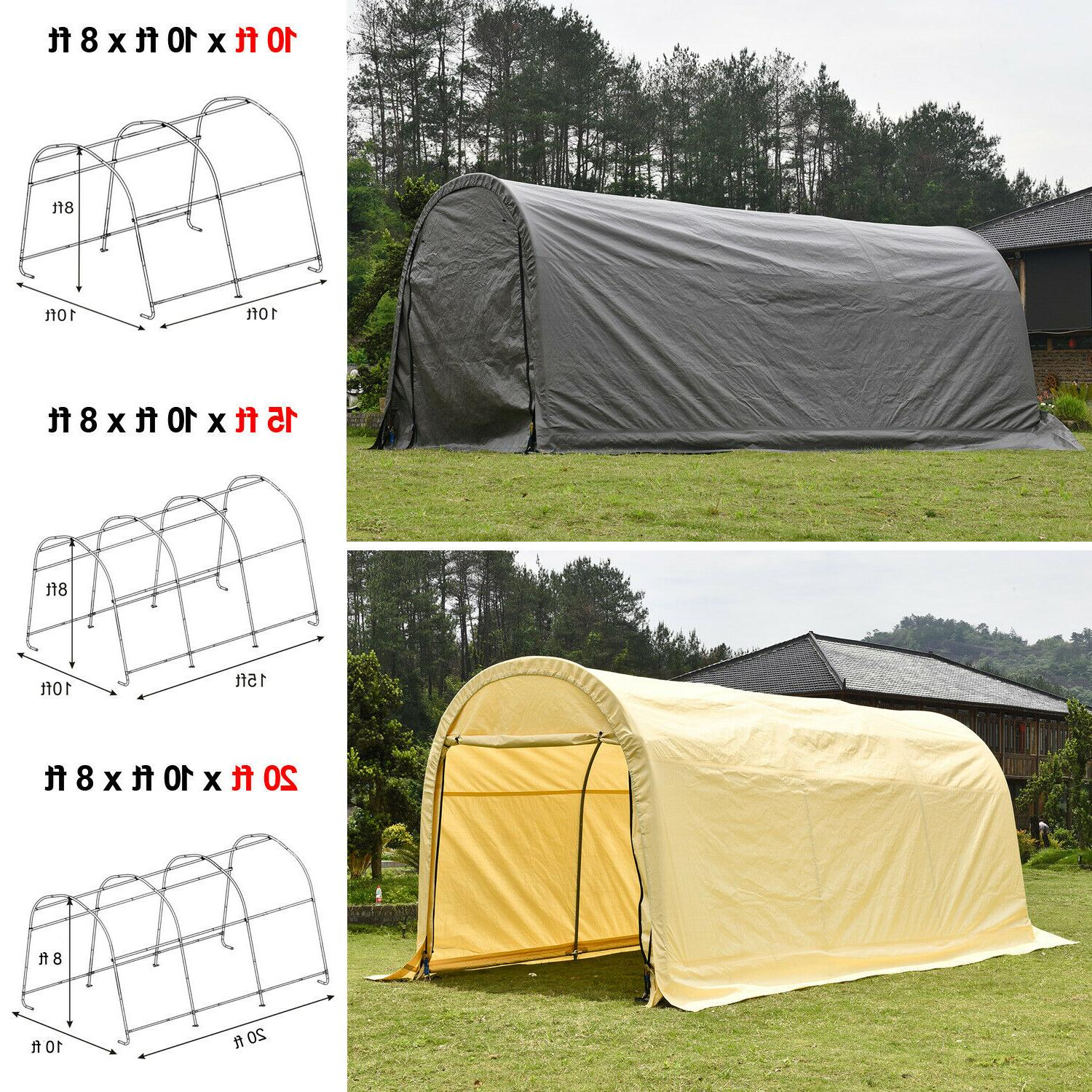 outdoor canopy carport tent car shelter storage