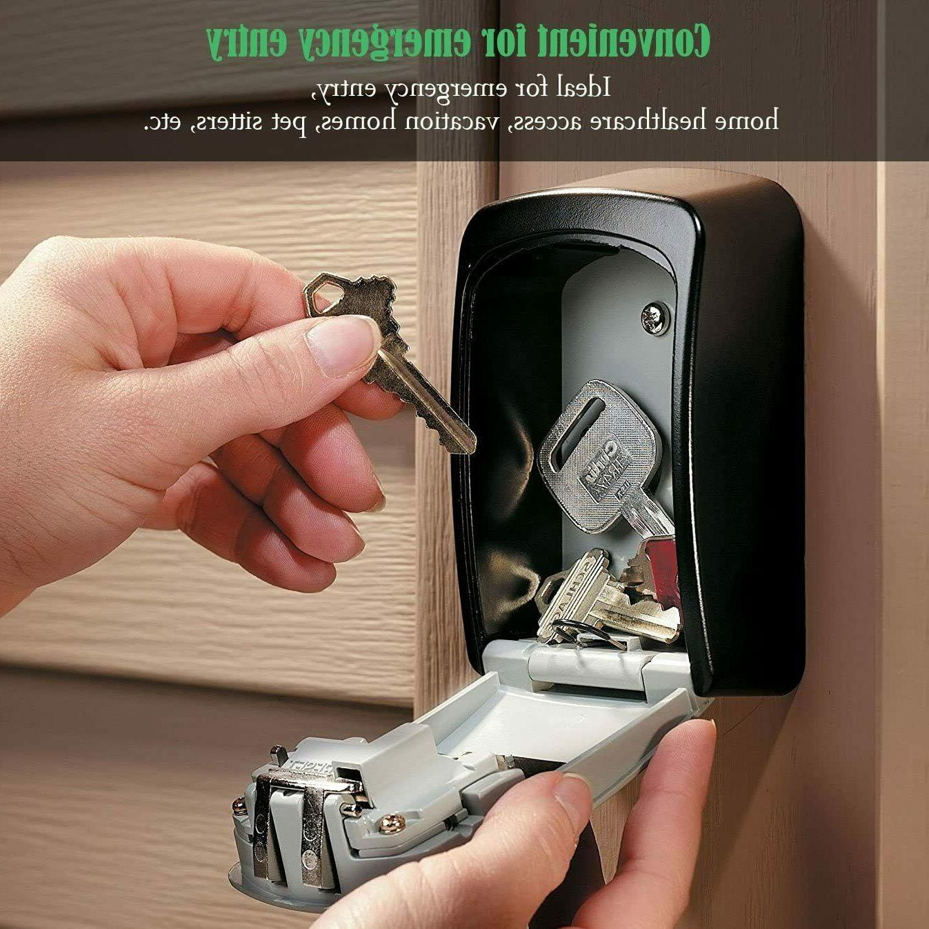 Outdoor Key Storage Lock with 4 Security