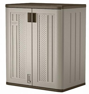 outdoor storage cabinet utility resin base box