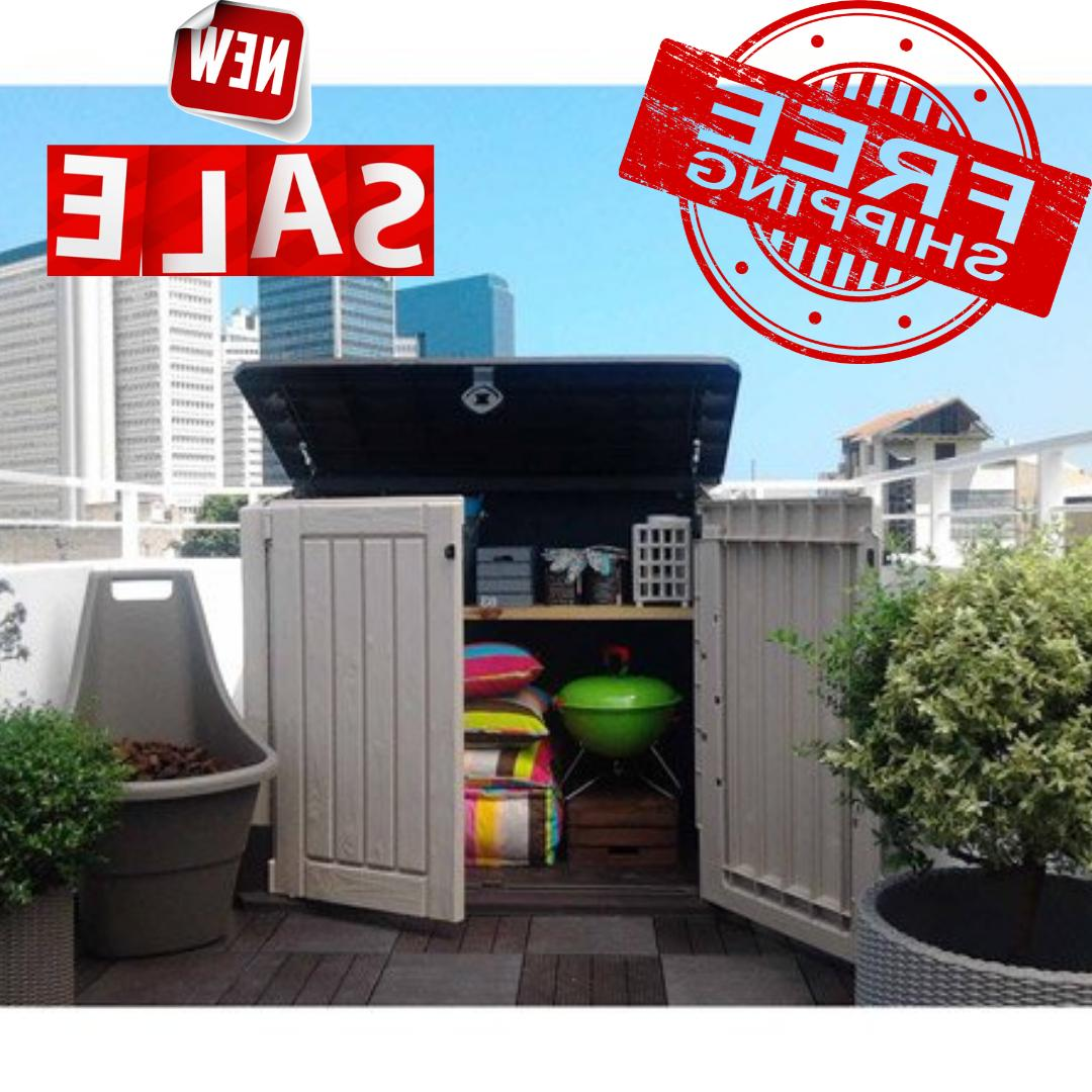 outdoor storage shed plastic garden cabinet all