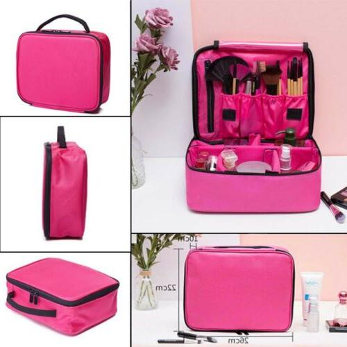 Pink Cosmetic Case Outdoor Toiletry Hanging