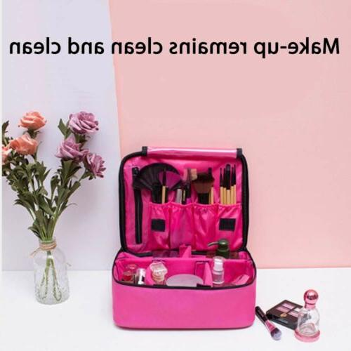 Pink Case Travel Outdoor Toiletry Hanging Pouch Storage