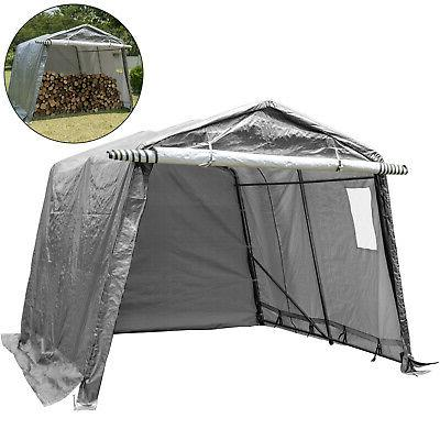 portable storage shed outdoor carport canopy garage