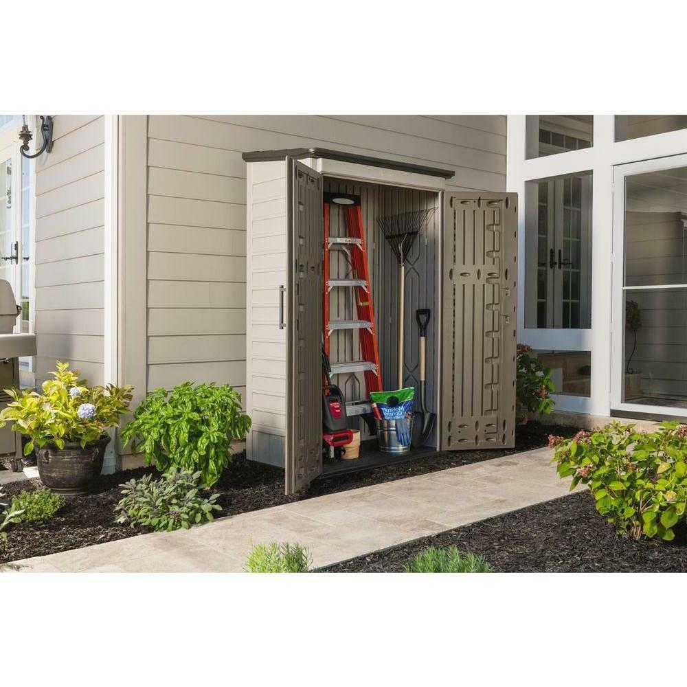 Rubbermaid Resin Large Vertical Long Handled Tools Outdoor