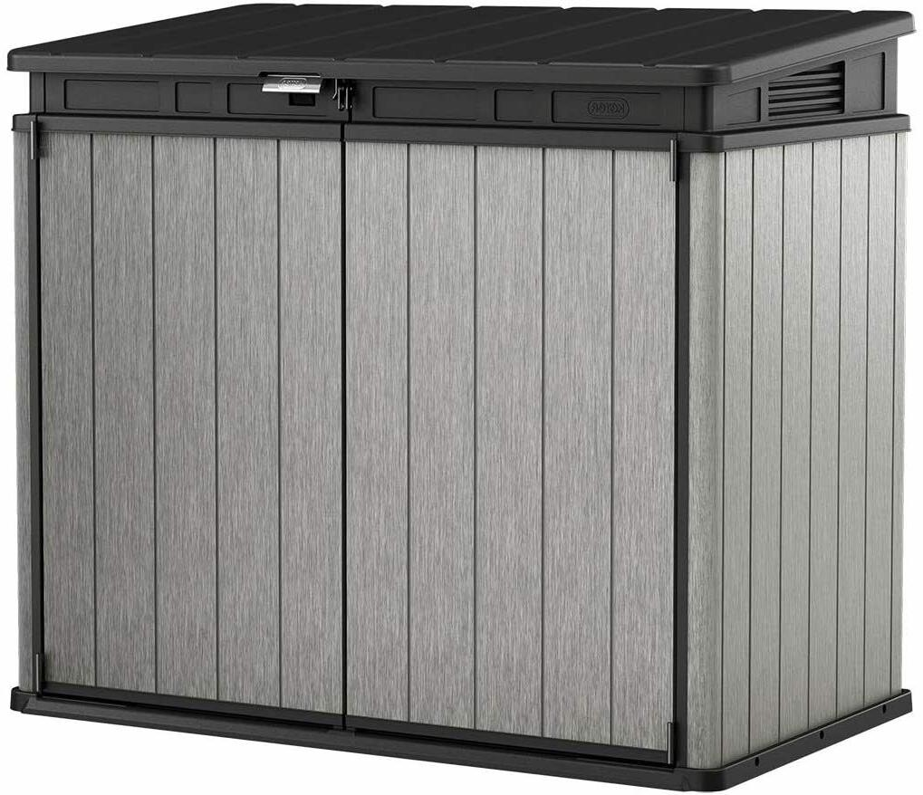storage shed deck box outdoor waterproof patio