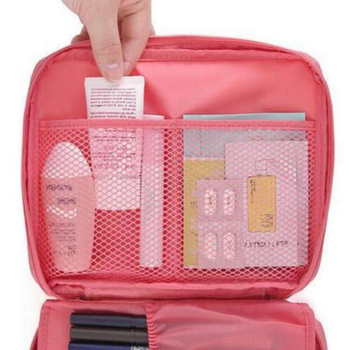 Travel Cosmetic Bag Toiletry Pouch Case Organizer Storage
