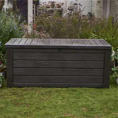 Keter Outdoor Patio Box and Bench