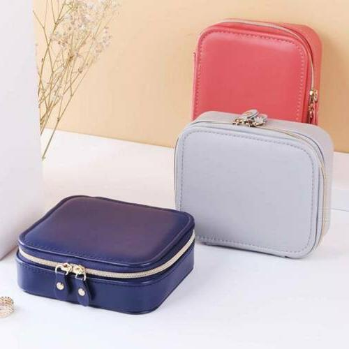 Women's Outdoor Travel Jewelry Box Earring Necklace Storage
