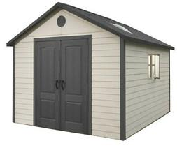 Lifetime Outdoor Storage Shed 6433 11 x 11 ft Durable Lawn a