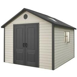 Lifetime Outdoor Storage Shed Building 6415 11x13.5 Sturdy G
