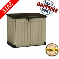 Keter Max 42-Cu Ft Resin Outdoor Storage Shed All-Weather St