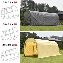 Outdoor Canopy Carport Tent Car Shelter Storage Shed + UV Pr