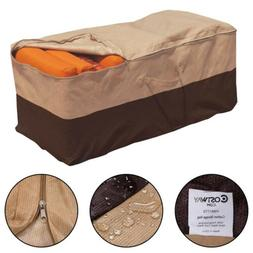 Outdoor Cushion Storage Bag Patio Furniture Chaise Organizer