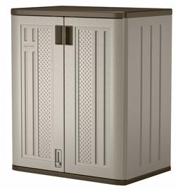 Outdoor Garage Base Storage Cabinet Strong Durable Build Eas