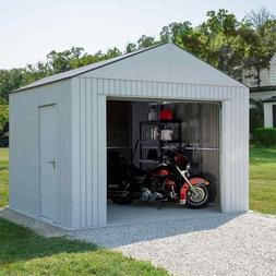 Outdoor Garage Storage Shed 12 x 10 ft Snow Load and Wind Ra