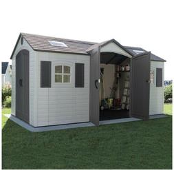Lifetime Outdoor Storage Dual Entry Shed