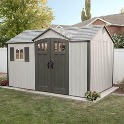Outdoor Storage Shed 12.5 ft. x 8 ft. with 10 year limited w