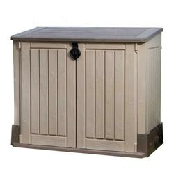 Keter Outdoor Storage Shed Garden Cabinet Utility Box Pool L