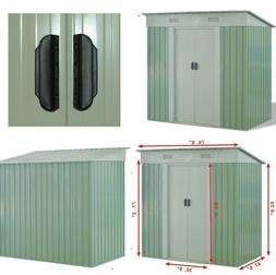 Outdoor Storage Shed Tool House Garden Storage Building Slid