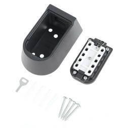Outdoor Wall Mount Waterproof Spare Key Safe Storage Box Pus