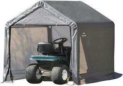 ShelterLogic 6' x 6' Shed-in-a-Box All Season Steel Metal Pe