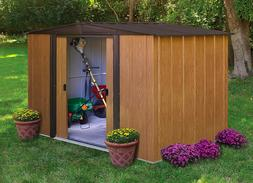 Steel Storage Shed 8' x 6' Gable Roof And 237 Cubic Feet Of